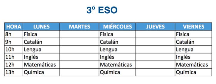 3º ESO Mallorca