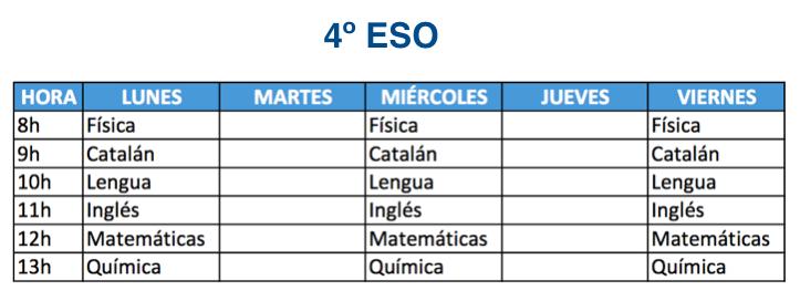 4º ESO Mallorca