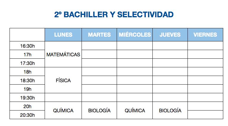 2º Bachiller